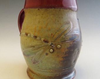 Dragonfly &  Fern Mug