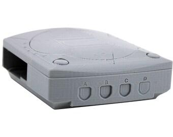 Raspberry Pi 2B or Pi 3 Classic Sega Dreamcast 3D Printed Case (Mini Dreamcast Classic)