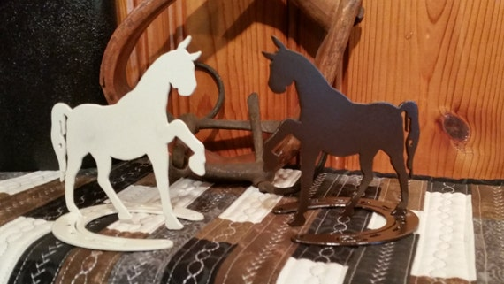 Horse Figurine,Custom Horse Decor,Metal Art,Metal Cut Horse Art,Horse Lover,Barn Art,Farm Metal Art,Plasma Cut,Farm Animal Figurine