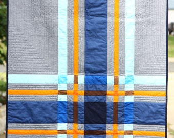 Baby Plaid PDF Quilt Pattern
