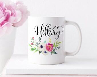 Personalized Name Mug, Inspirational Coffee Mug, Coffee Mug Gifts
