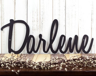 Metal Name Sign | Name Sign | Metal Sign | Family Name Sign | Custom Name Sign | Personalized Sign | Last Name Sign, Custom