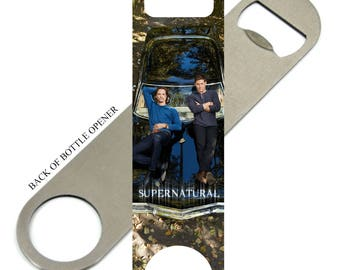 Supernatural Sam &  Dean Winchester  Bottle Opener