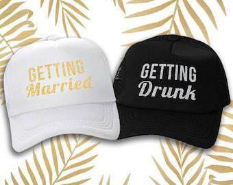 Bride Trucker Hat, Trucker Hat, Custom Trucker Hat, Womens Trucker Hat