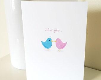 PRINTABLE I Love you a Bushel & a Peck #CARD