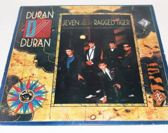 Duran Duran ,Seven And The Ragged Tiger, 1983 LP, Vinyl