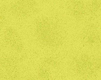 Fat Quarter This 'N That - Sand in Lime Green - Cotton Quilt Fabric - Designed by Nancy Halvorsen for Benartex (W866)