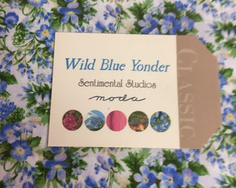 Wild Blue Yonder layer cake
