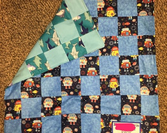 Baby blanket, baby quilt, quilt for baby, baby gift, new born gift