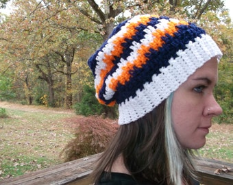 Leaping Stripes Beanie Hat