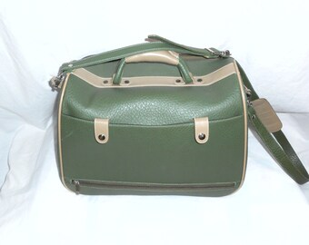 Vintage Luggage Carry on Luggage Carry on Bag Antique Luggage