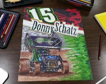 11 x 14 Custom Hand-Drawn Poster