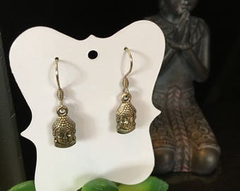Dangling Buddha Earrings