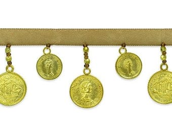 10 yards of Coin Trim