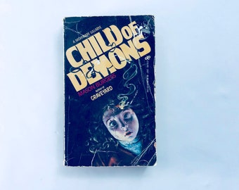 CHILD OF DEMONS / by Mason Burgess Author of Graveyard / Vintage Occult, Horror Paperback