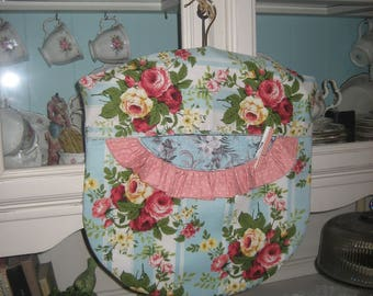 Shabby Roses Lingerie/Laundry/Clothespin Bag!~So Sweet!