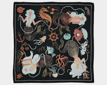 Mermaids Scarf by Yas Imamura