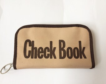 Vintage Checkbook Holder