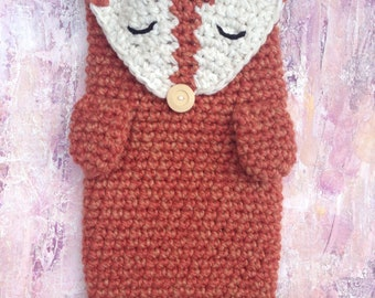 Fox Hot Water Bottle Cover