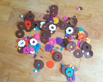 Frosted Donut & Sprinkles Confetti