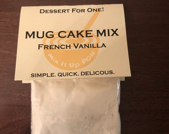 Vanilla Mug Cake Mix
