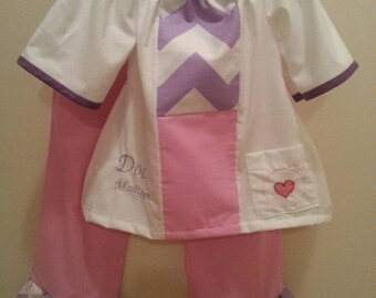 Doc McStuffins inspired pants set