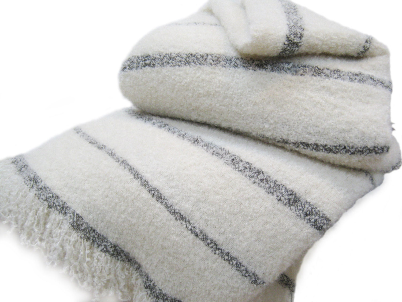 Wool Angora Mohair Blankets Beautiful Oversize King