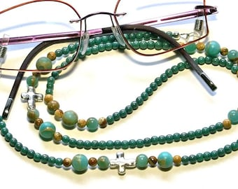 Women's Glasses Accessory, Reading Glasses Accessory, Chain For Glasses, Glasses Chain, Glasses Holder, #84 US Free Shipping