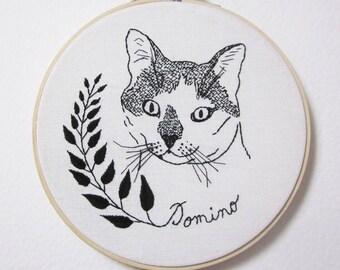 Custom cat portrait (or any other pet portrait)