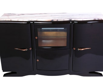 Luxe French Art Deco Buffet / Sideboard