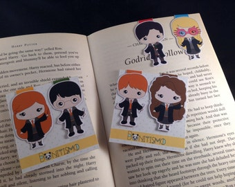 Magnetic bookmarks - Harry Potter, Dumbledore Army