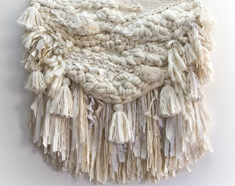 TASSEL LUXE, Woven Wall Hanging, Tapestry, Weaving