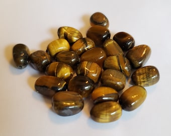 Tiger's Eye Large Nuggets Beads