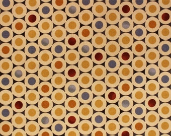 Timeless Treasures Quilt Fabric Modern Circles Sold by the HALF YARD