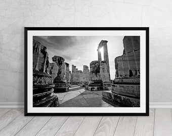 Didyma Apollo Temple III, Turkey, Fine Art, Photography, Downloadable Art, Printable Art, Home Decor, Best Seller