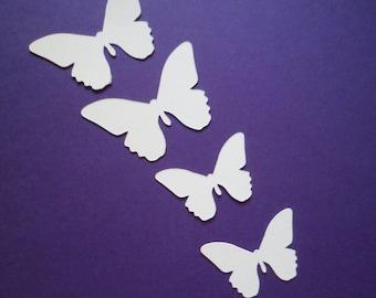 Silhouette Die Cut Butterflies x 30 (15 of each)