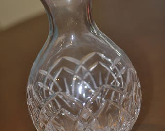 Vintage Cut Glass Crystal Vase