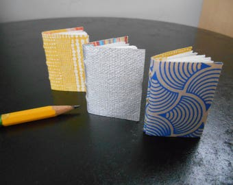 Small Handmade Books, Set of Three