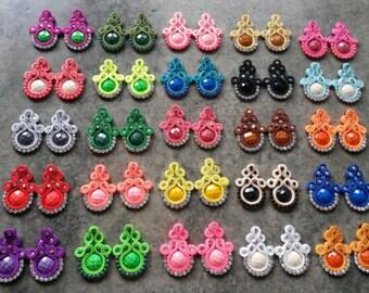 25 pairs of casual medium earrings