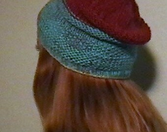 Slouch Beanie and Necktie Scarf