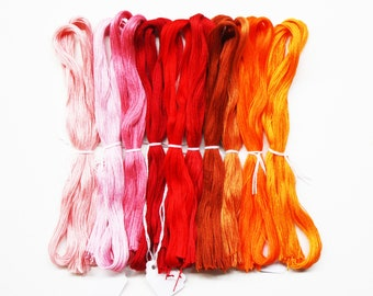 Floche Yarn 1.45 Each, DMC Floche Thread, Embroidery Threads, Cross-Stitch Threads, DMC Yarns, Floche Cotton Thread, Needlework Threads