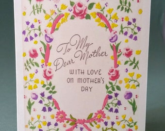 Mother's Day Card for a Dear Mother