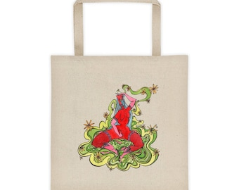 Smokin' Out the Daisies- Tote bag