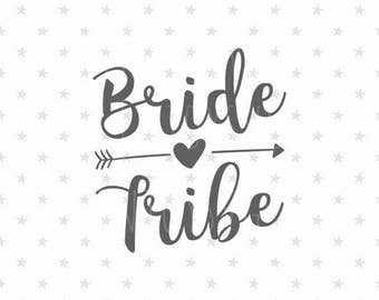 Wedding Svg Bride tribe svg Bride Tribe svg file Flower Girl svg Bride iron on Wedding Svg Bridal Svg Bride svg Wedding Svg Bride Svg file