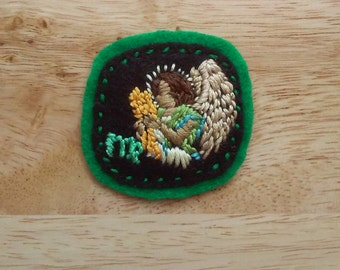 Astrology: Meticulous Virgo (Patch, Pin, Brooch, or Magnet)