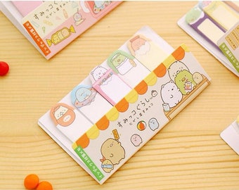 Sumikko Gurashi / Japanese Stationary / School Supplies / Office Supplies / Stationary / San X / Sticky Tabs / Cute Sticky Notes