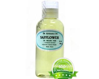 4 Oz Safflower Oil 100% Pure Organic Cold Pressed