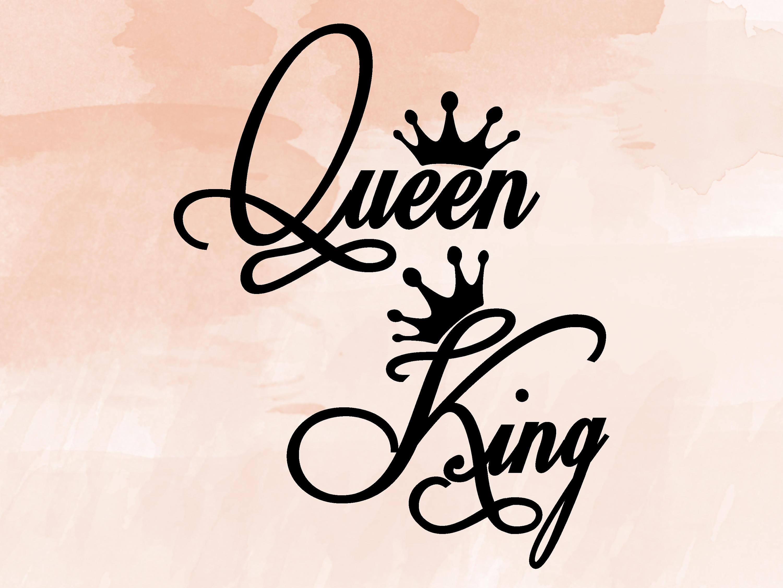 His Queen Her King Svg.Logo De Queen Ecosia
