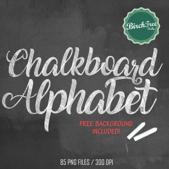 chalkboard clipart alphabet chalkboard letters chalk