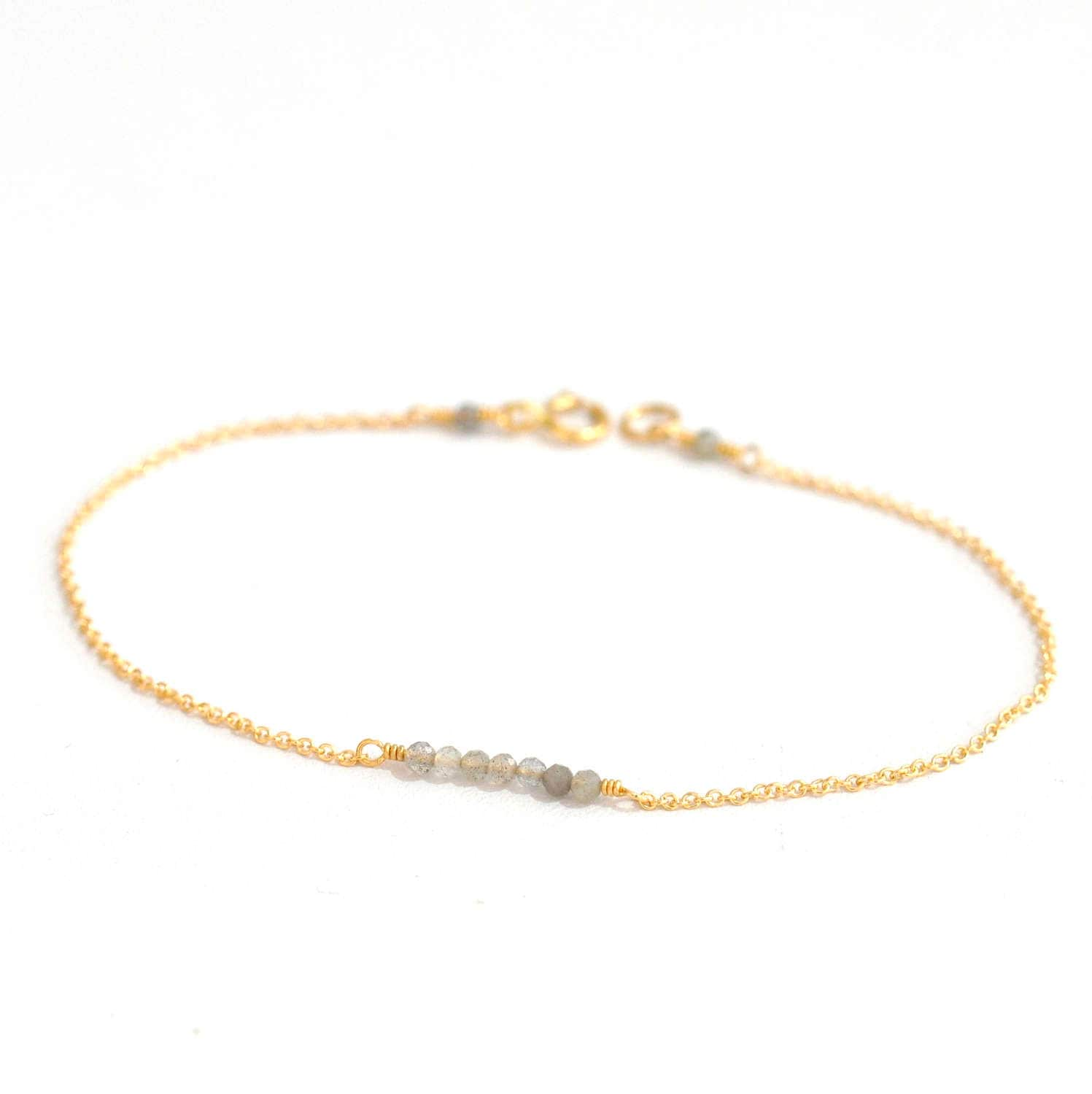 or bracelet premier s inch products men dainty mens gold ankle